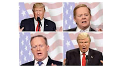 Watch These Politicians Morph Into Their 'SNL'