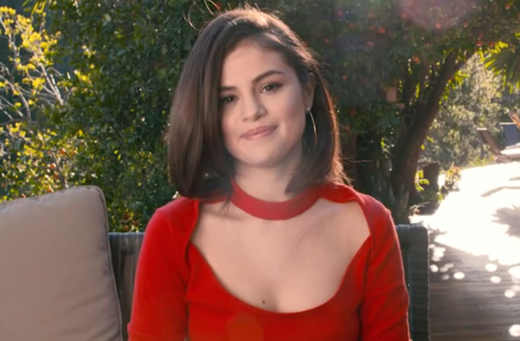 selena gomez reveals the most romantic thing anyone s done for her
