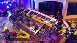 Un tramway emblématique de Lisbonne déraille, 28 blessés