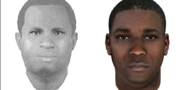 Le violeur court toujours, mais son profil ADN a déjà été mis en examen. (Photo : portrait robot du FBI. A gauche, la version originale de 2003, à droite, une modification prenant en compte le vieillissement du suspect).