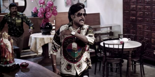 A still from the film 'Kabali'.