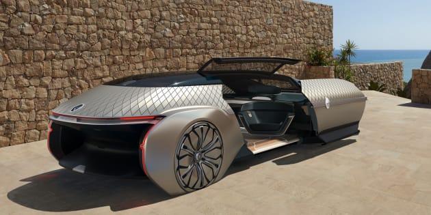 EZ Ultimo, comment Renault voit la voiture autonome de luxe de demain