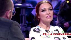 Paula Echevarría confiesa a Risto el motivo por el que se niega a hacerse fotos con