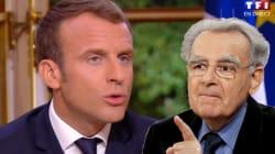 Avant l'interview, Macron avait potassé le
