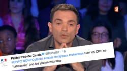 La préfecture du Pas-de-Calais répond en direct à Yann Moix sur le traitement des