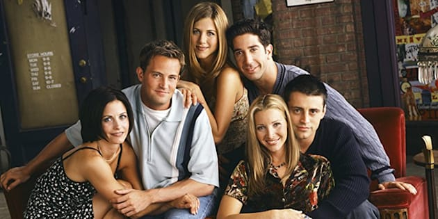 """La série """"Friends"""", diffusée de 1994 à 2004 sur NBC, n'a pas perdu de sa notoriété à l'aire de Netflix."""