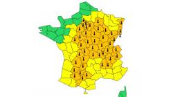 47 départements en vigilance orange à la canicule ou aux