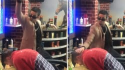 Ce coiffeur parodie