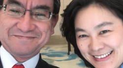 中国騒然。河野太郎外相、中国外務省の「あの人」とあま〜い2ショット