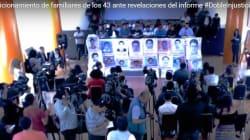 No queremos la verdad bajo tortura: padres de los 43 de