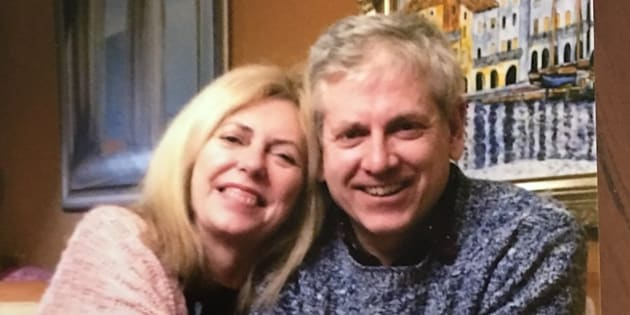 NDP leadership candidate Charlie Angus shared a photo of himself with his sister on Twitter after announcing she had died after a lengthy illness.