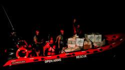 La ONG Proactiva Open Arms rescata a 59 personas en el