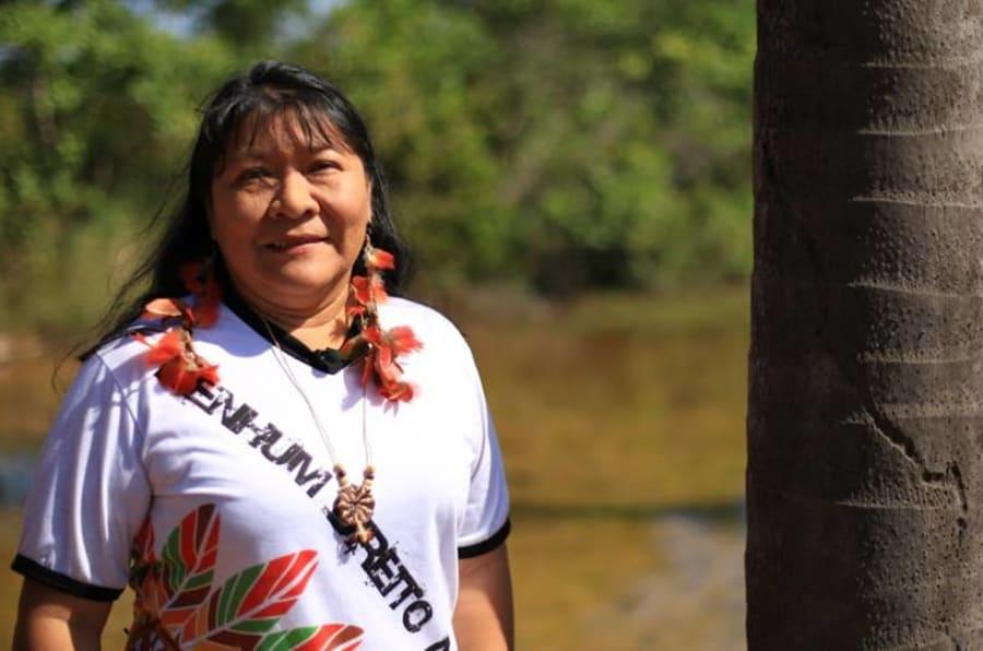 Resultado de imagem para indígena se elege pela Rede Sustentabilidade
