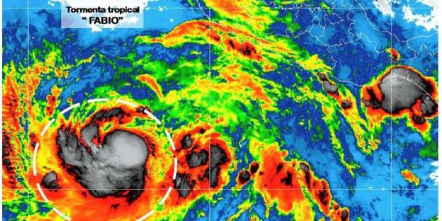 Fabio favorecerá la entrada de humedad hacia el occidente del país.