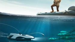 Ce drone sous-marin veut aider les pêcheurs à trouver des poissons