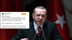 Jérôme Jarre interpelle Erdogan sur les Rohingya via Twitter (et Erdogan lui