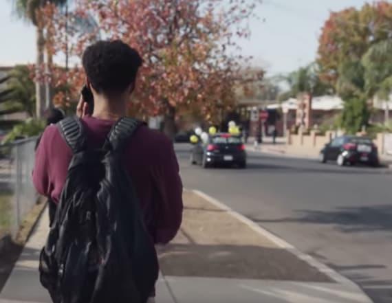 PSA shows the world through a school shooter's eyes
