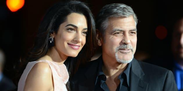 George Clooney e Amal Alamuddin hanno donato 100mila dollari