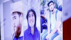 Asesinados y disueltos en ácido tres estudiantes desaparecidos en