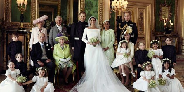 Le 3 foto ufficiale del matrimonio del Duca e la Duchessa di