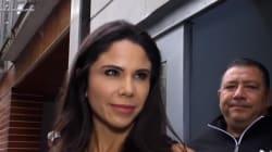 Paola Rojas habla, ante las cámaras, del caso