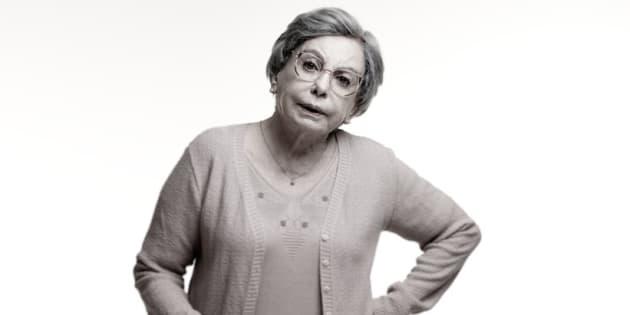 Beatriz Segall em 'Os Experientes', seu último trabalho na TV.