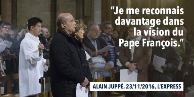 Infographie partagée sur le compte d'Alain Juppé mercredi 23 novembre.