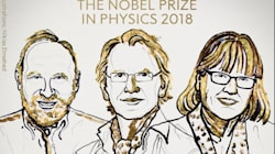 Gérard Mourou, un Français, remporte le prix Nobel de physique 2018, aux côtés d'un Américain et d'une