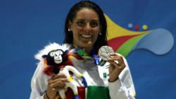 La mexicana Fernanda González es máxima medallista en
