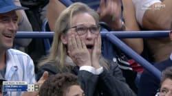 Las reacciones de Meryl Streep en el US Open son dignas de un