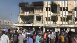 Les images du chaos après l'attentat de