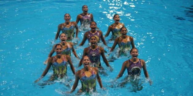 Sirenas mexicanas honran la película Coco en Barranquilla 2018