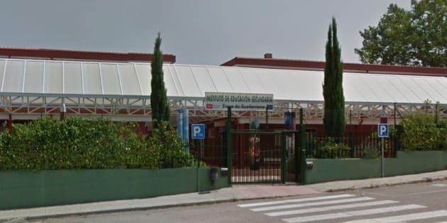 Fachada del instituto donde se ha producido la denuncia.