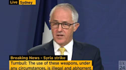 Turnbull Fully Supports Trump's Response To 'Abhorrent War Crime' In