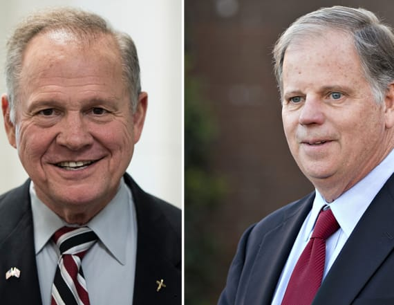 Democrat takes narrow lead in Senate race in Alabama