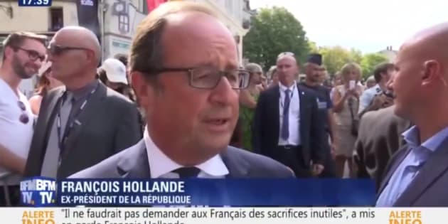 France : Hollande sort de sa réserve et met en garde Macron
