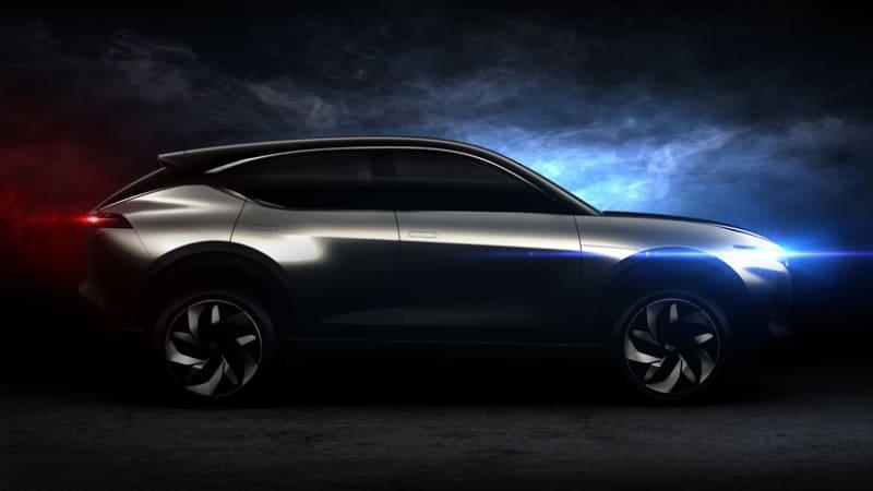 photo image Pininfarina-designed Hybrid Kinetic K350 is second concept for Beijing