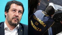A casa della guardia di finanza Salvini rilancia il