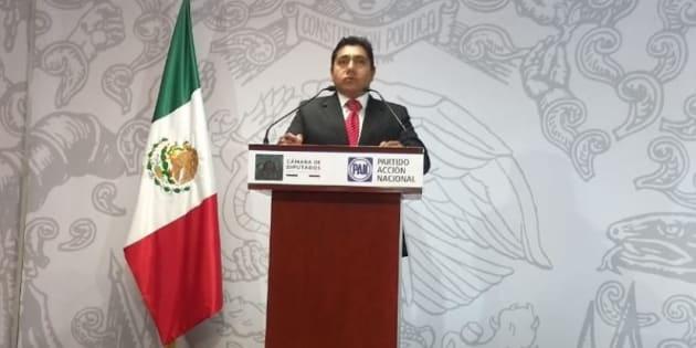 El diputado panista Jorge Luis Preciado renunció al derecho al fuero, a través de una carta presentada al presidente de la Mesa Directiva de la Cámara de Diputados, Porfirio Muñoz Ledo.