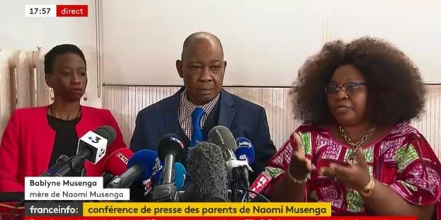"""Mort de Naomi Musenga: le père de la jeune fille dénonce """"un manque d'humanité total"""""""