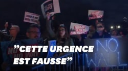 Une manifestation à New York contre la