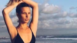 Ilona Smet profite sublimement de l'été sur