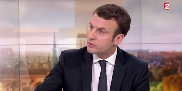 """""""Ça fait un peu Bourget réchauffé"""" riposte Emmanuel Macron, après les attaques de Benoît Hamon"""