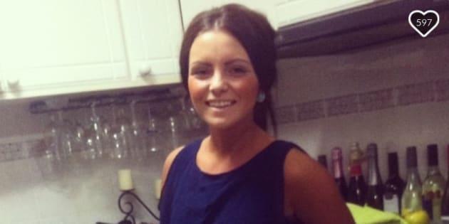 Matthew John Davey, 34, has pleaded 'not guilty' to setting Nicole Evans alight.