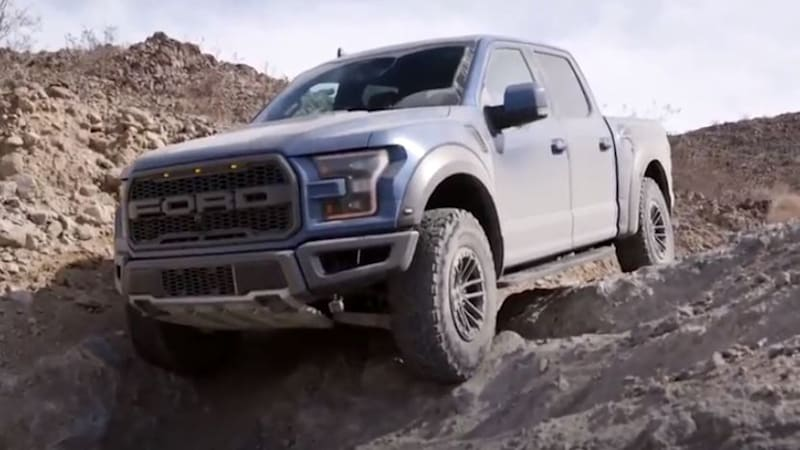 2019 Ford F-150 Raptor Trail Control demonstrated in video ...