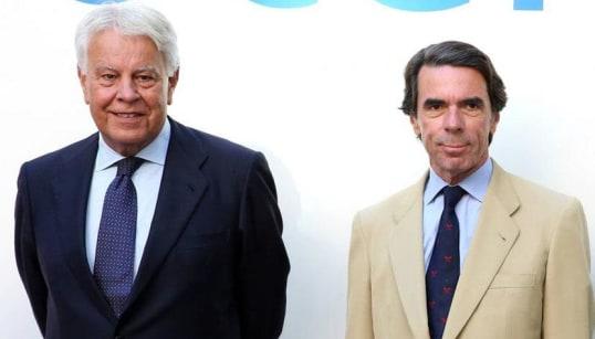 El juego de ponerle bigote a Aznar en esta foto que te tendrá entretenido varias