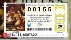 El 155 arrasa en Cataluña... para el Gordo de la Lotería de