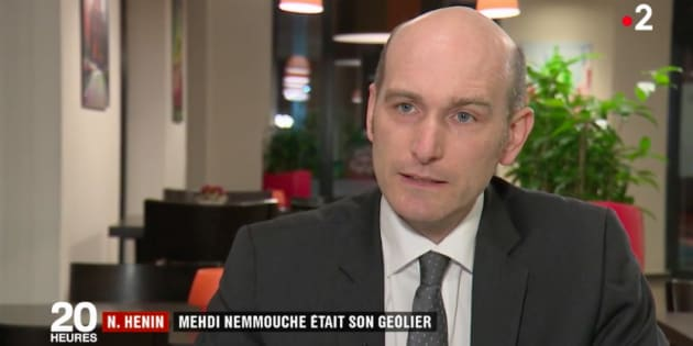 Nicolas Hénin (ici sur France 2) a témoigné au procès de Mehdi Nemmouche ce 7 février.