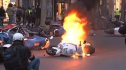Le boulevard Saint-Germain a souffert de l'acte VIII des gilets jaunes à