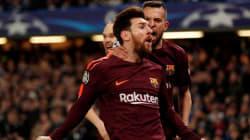 Messi evita la derrota del Barça y deja abierta la eliminatoria frente al Chelsea